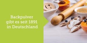 Backpulver Herkunft Deutschland