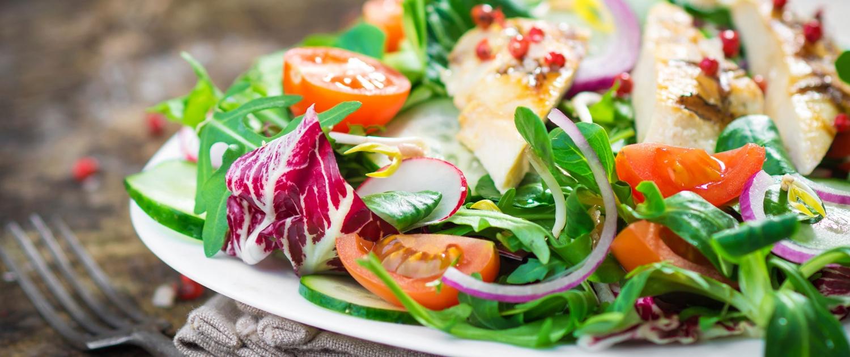 Stoffwechselkur Salat Gemuese