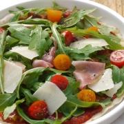Pfannenpizza frisch gesund Topping ELBCUISINE