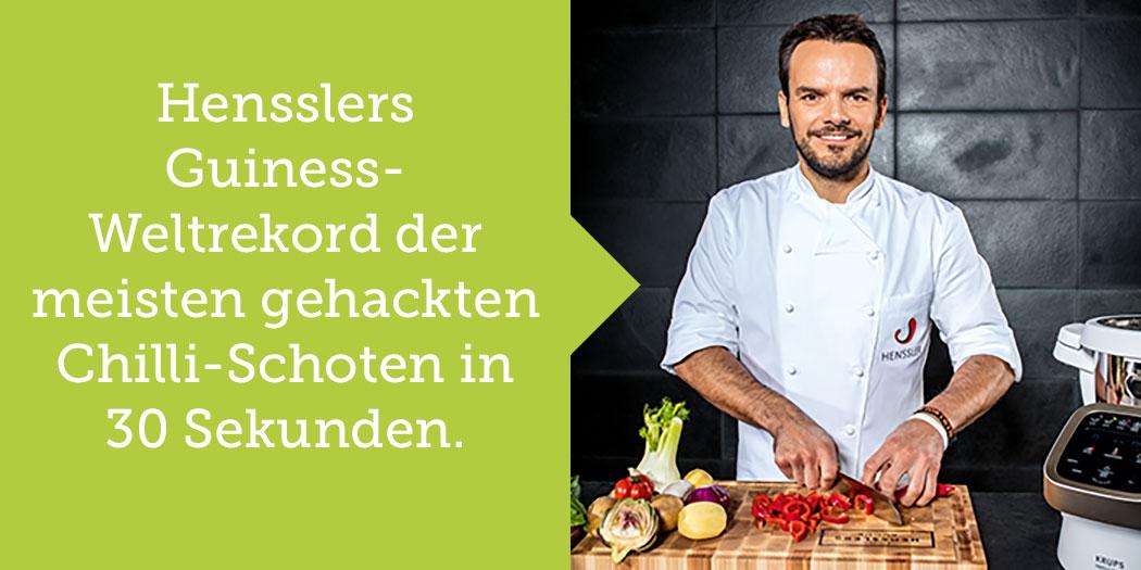 Steffen Henssler Markenbotschafter Fakten