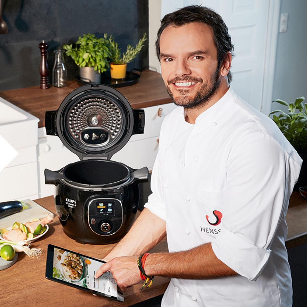 Steffen Henssler Markenbotschafter Cook4me