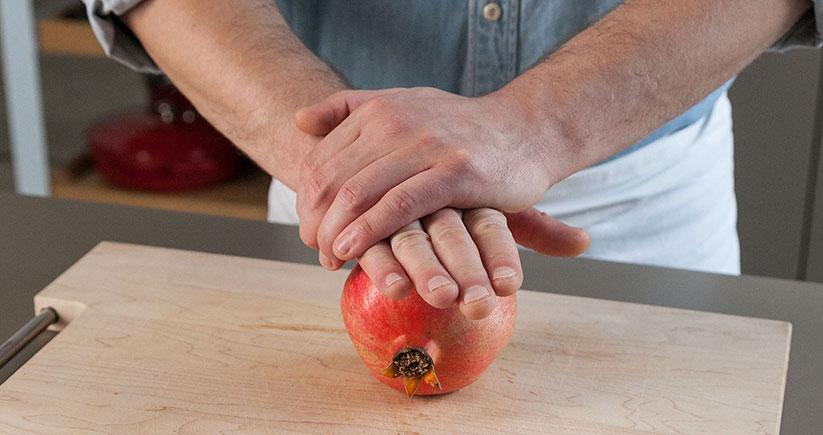 Smoothie Bowl Granatapfel Brett Mann Granatapfel