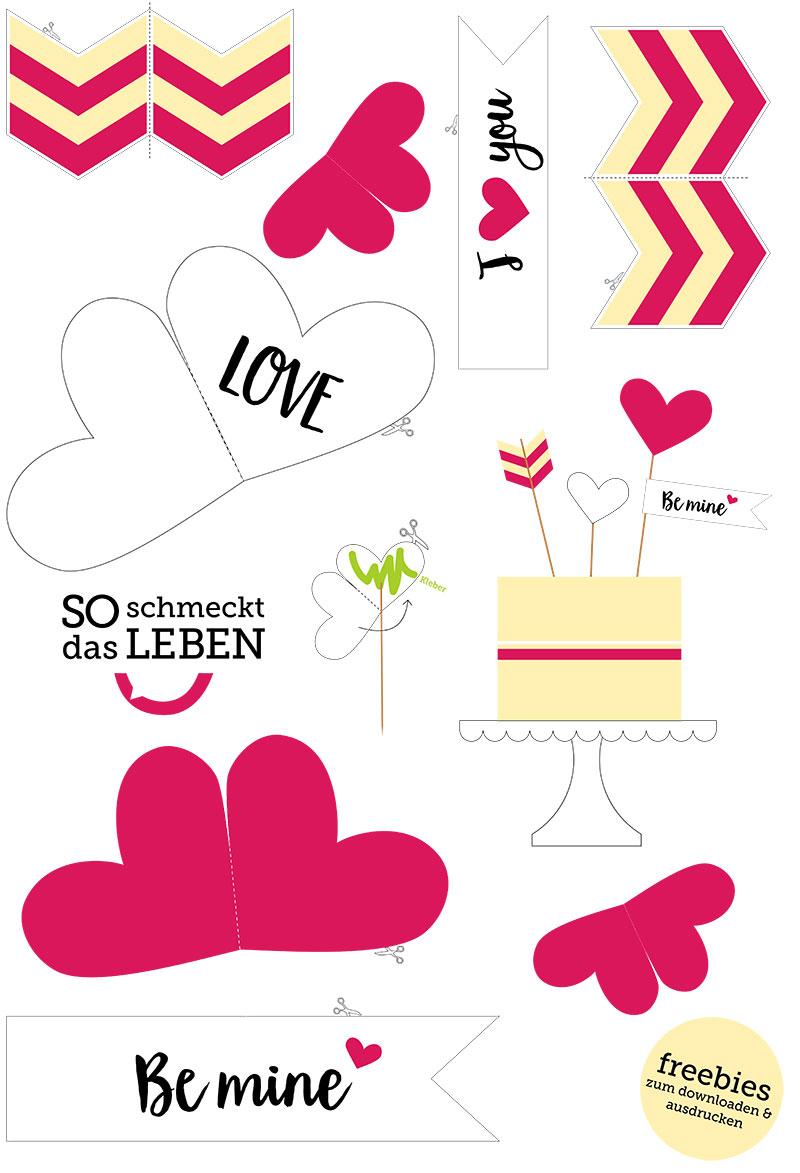 Valentinstag Geschenke Freebies