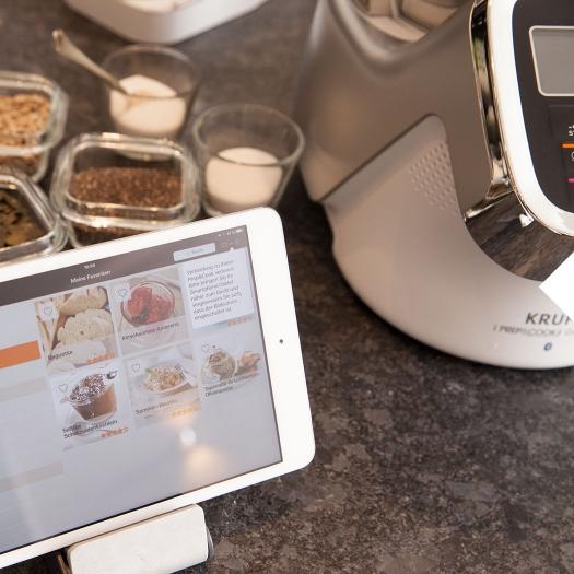 Küchenmaschine mit Kochfunktion Prep&Cook App