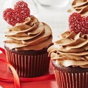 Valentinstag Geschenke Cupcakes