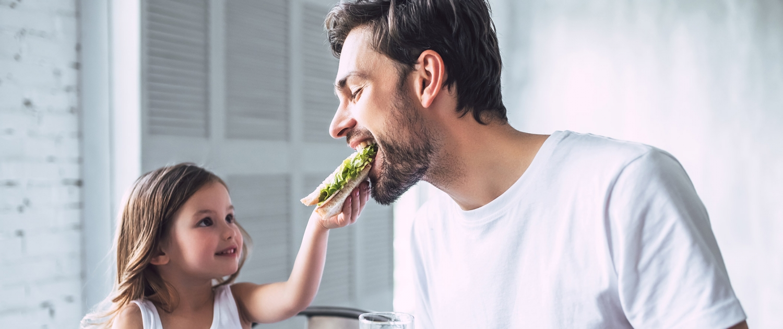 Geschenkideen Vater Tochter Frühstück Brot