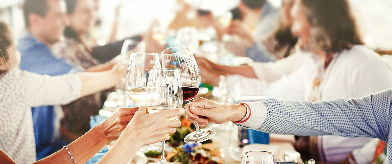 Dinner mit Freunden