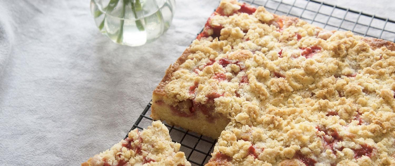 Erdbeer Streuselkuchen