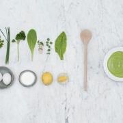Zutaten für die grüne Sauce