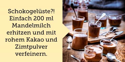 Heißhunger Tipp Schokolade
