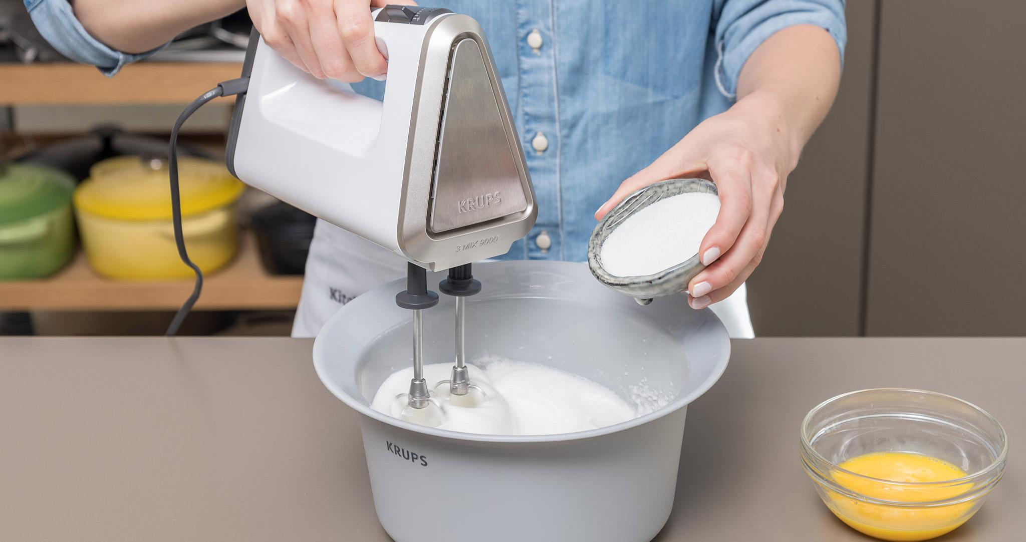 Himbeerschnitte Zubereitung Mixer