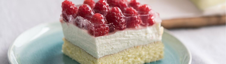 Himbeerschnitten, Kuchen, Rezept