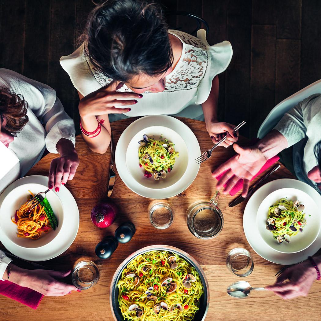 Italienische Küche Gesellschaft