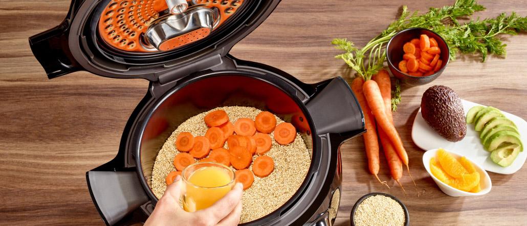 Schnelle Rezepte mit der Cook4Me App Gemüse Karotten
