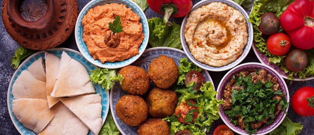 Levante Küche Dips Teller Auswahl