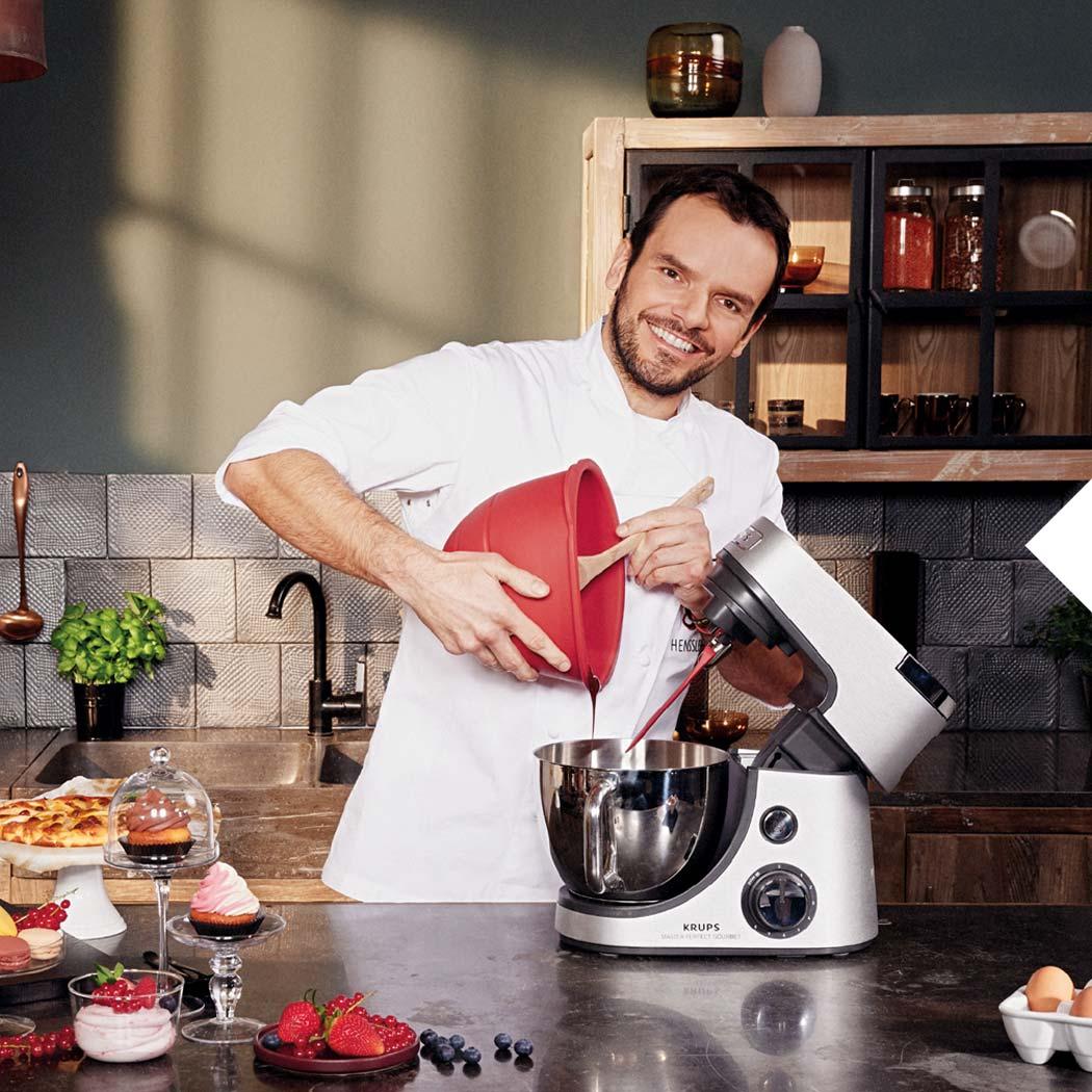 Küchenmaschine Steffen Henssler mit der Master Perfect Gourmet