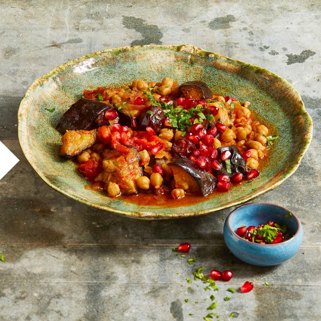 Persische Küche Aubergine