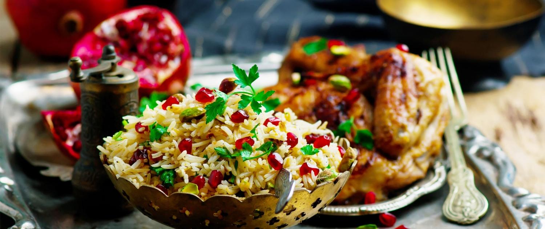 Persische Küche Gericht
