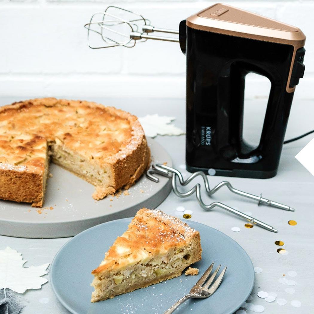 Saftiger Apfel-Marzipan-Kuchen – Bloggerrezept von