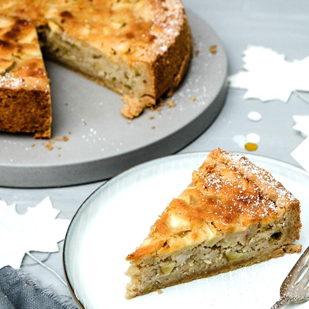 Apfel-Marzipan-Kuchen