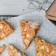 Apfel-Marzipan-Kuchen Bine Güllich