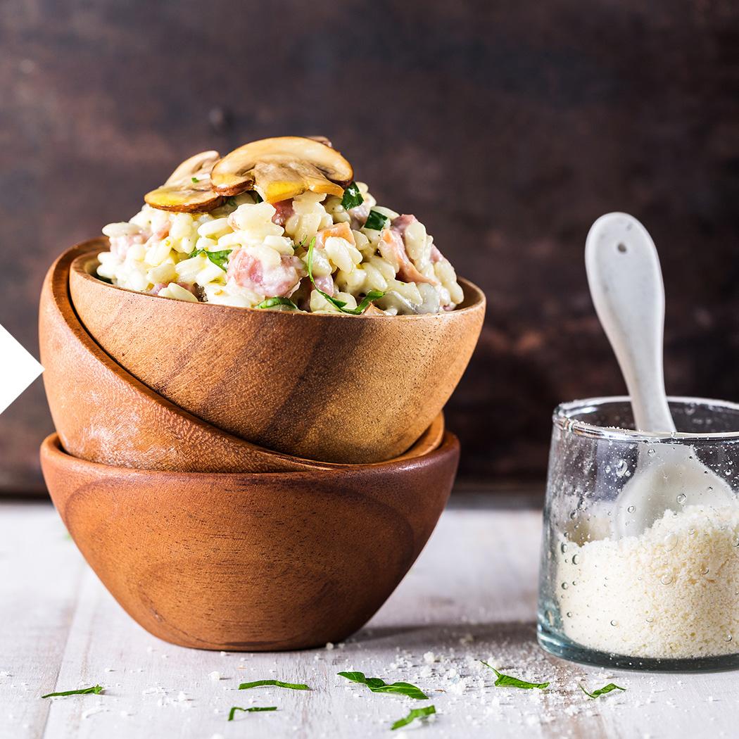 Pilzsaison Reis Pilze
