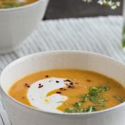 Karotten-Miso-Suppe