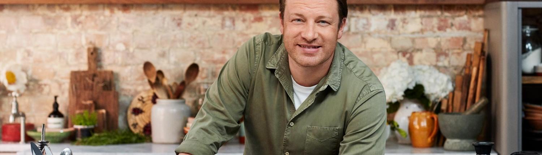 Jamie Oliver in der Küche