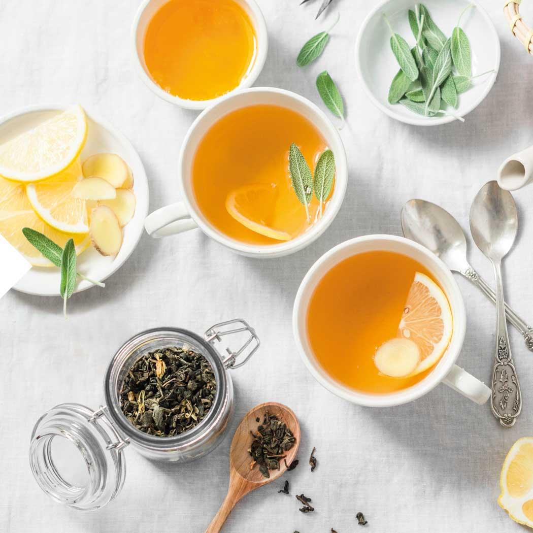 Erkältung Tee