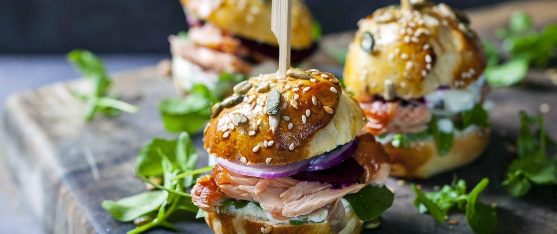 Partytipps Mini-Burger