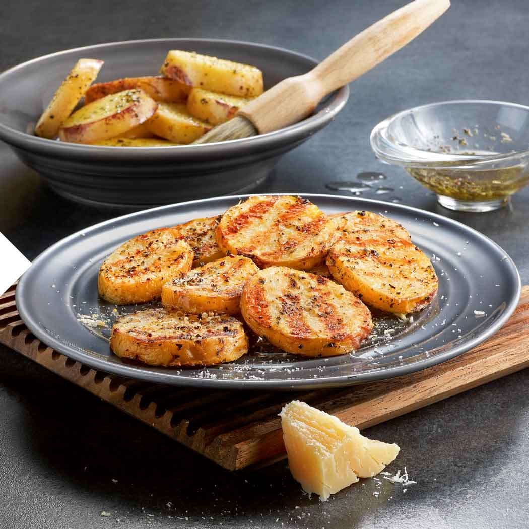 Wintergrillen Kartoffeln