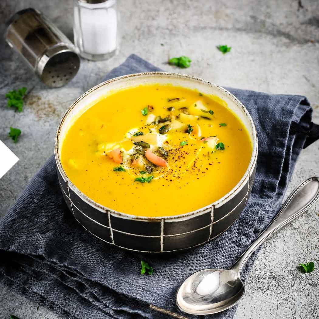 Wintergrillen Suppe
