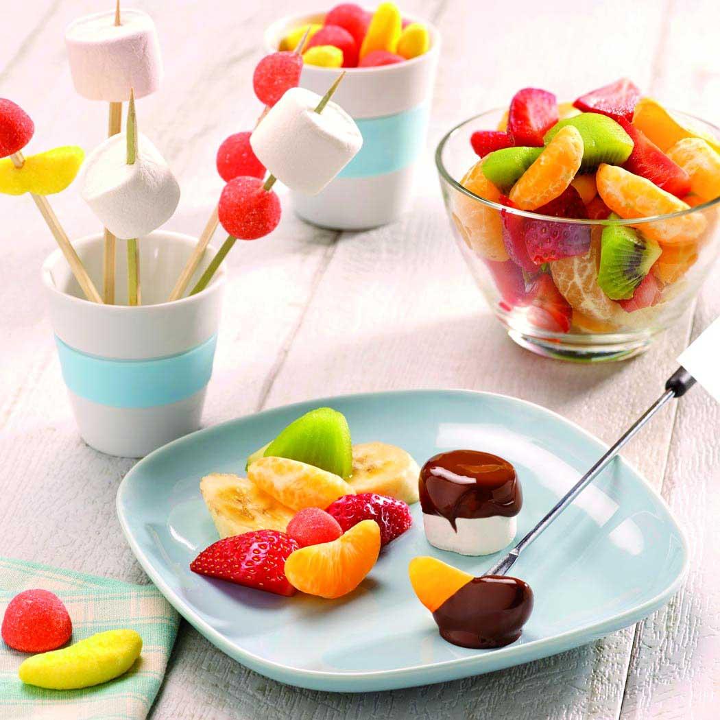Party-Food Fondue