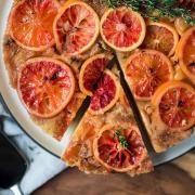Blutorangen-Kuchen Tarte Tatin