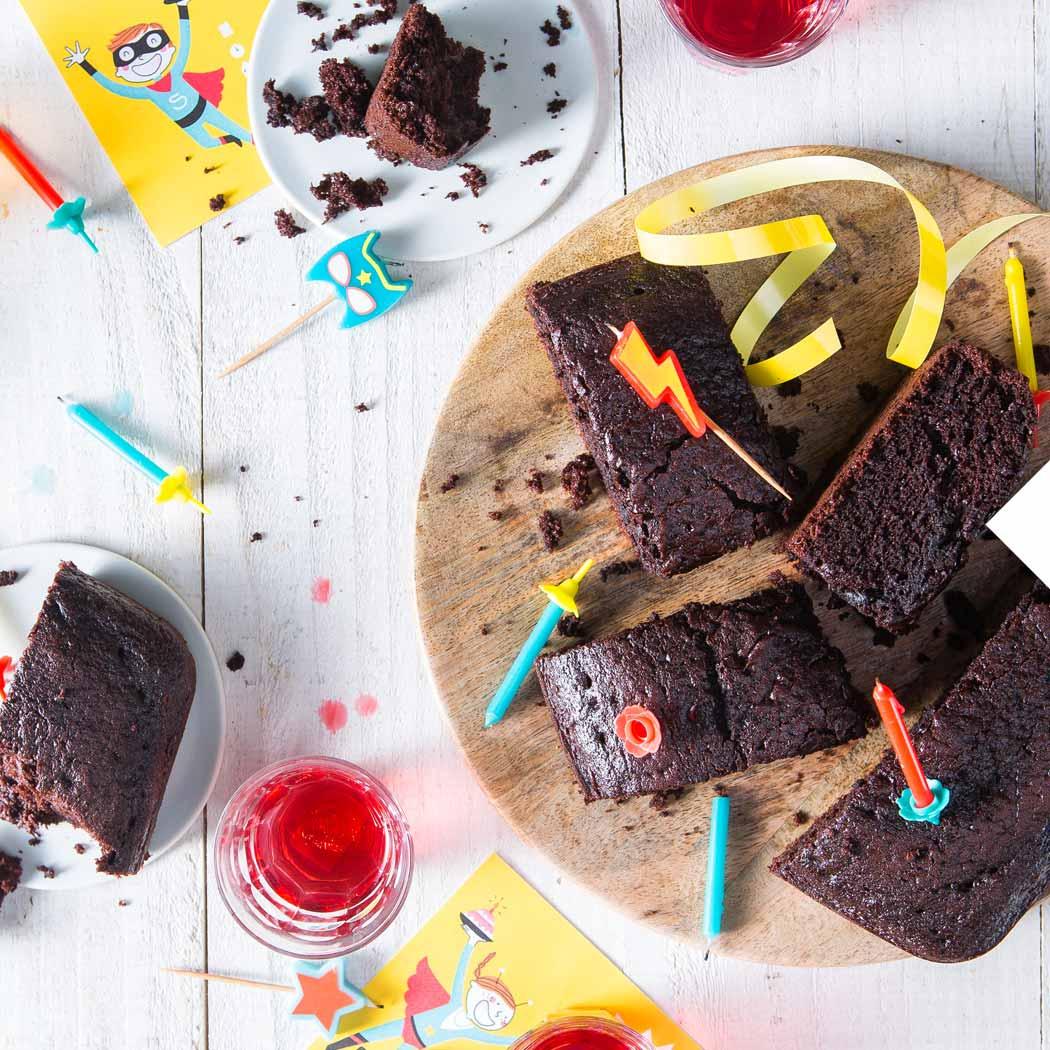 Kindergeburtstag Brownies