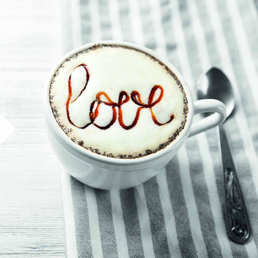 Valentinstags-Ideen Kaffe