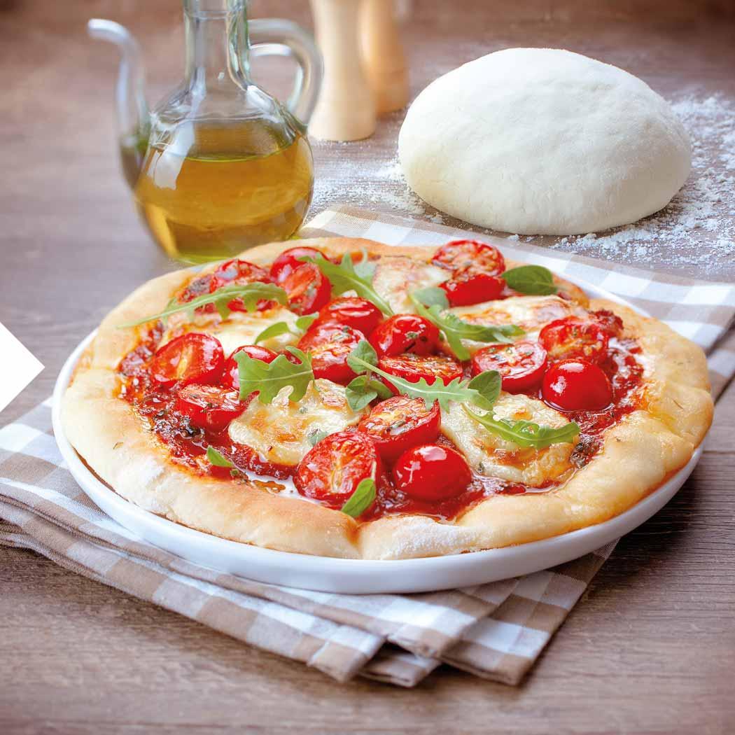 Pizza Rezepte Pizza mit frischer Tomate