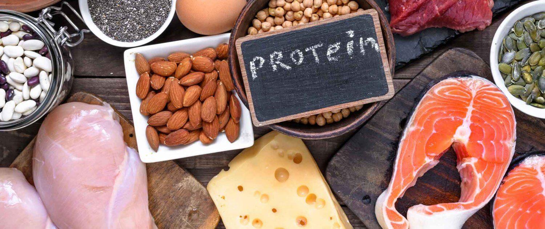 Proteine Lebensmittel Lachs Fleisch