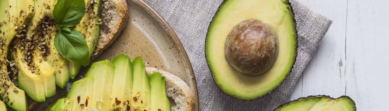Avocado Rezepte Scheiben Brot