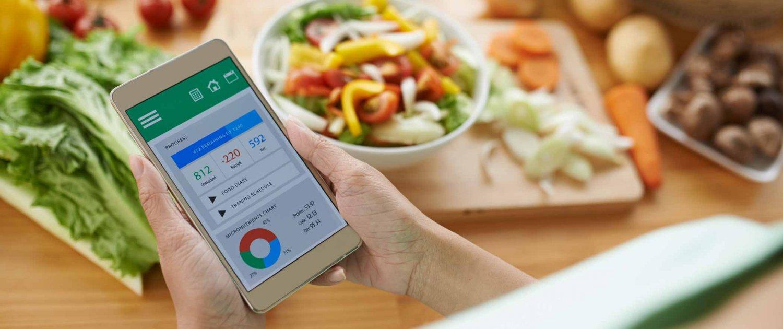 Food Apps Smartphone Salat