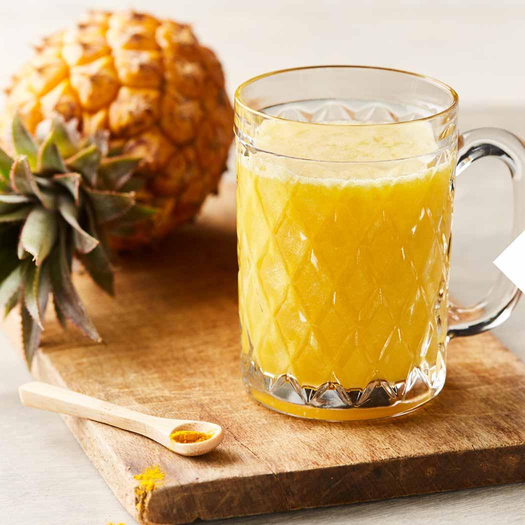 Kurkuma Ananas Saft