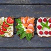Joghurtbrot Brot Toppings