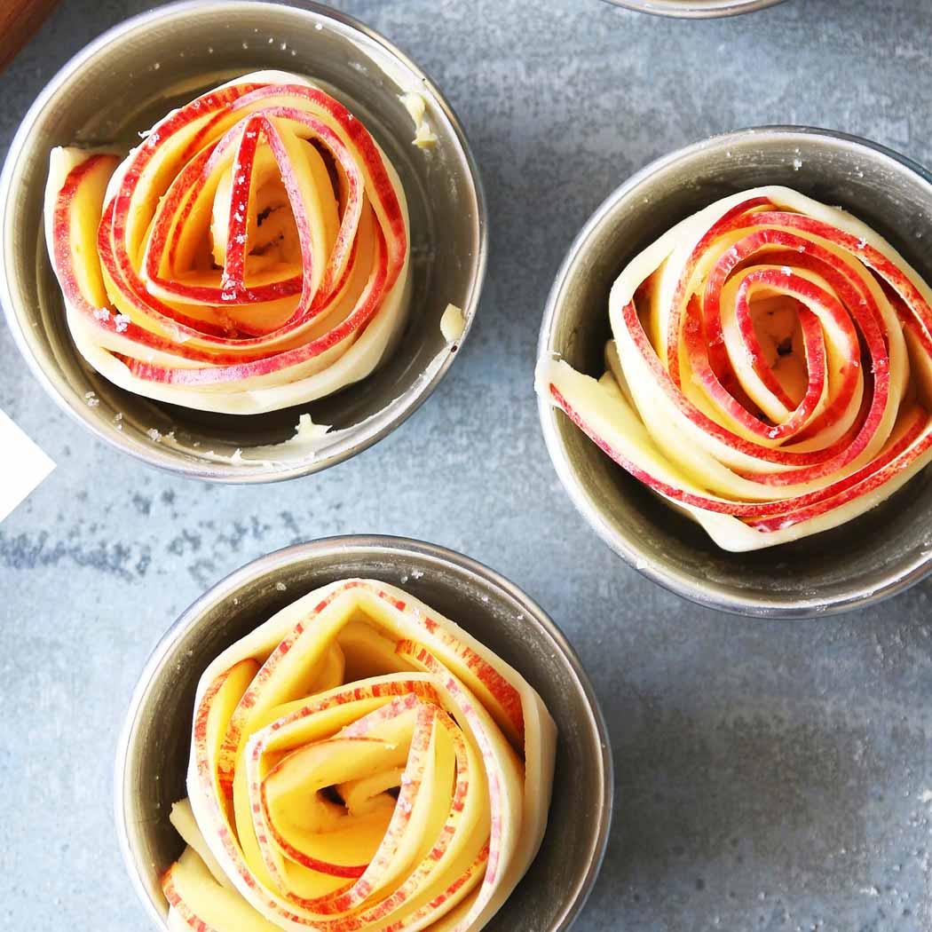Zuckerfrei Apfelrosen