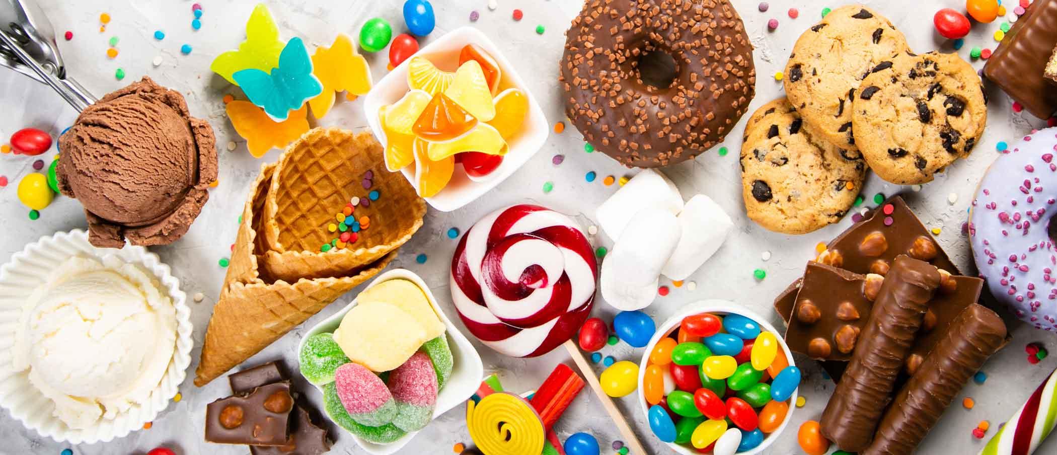 zuckerfrei Naschen Süßigkeiten