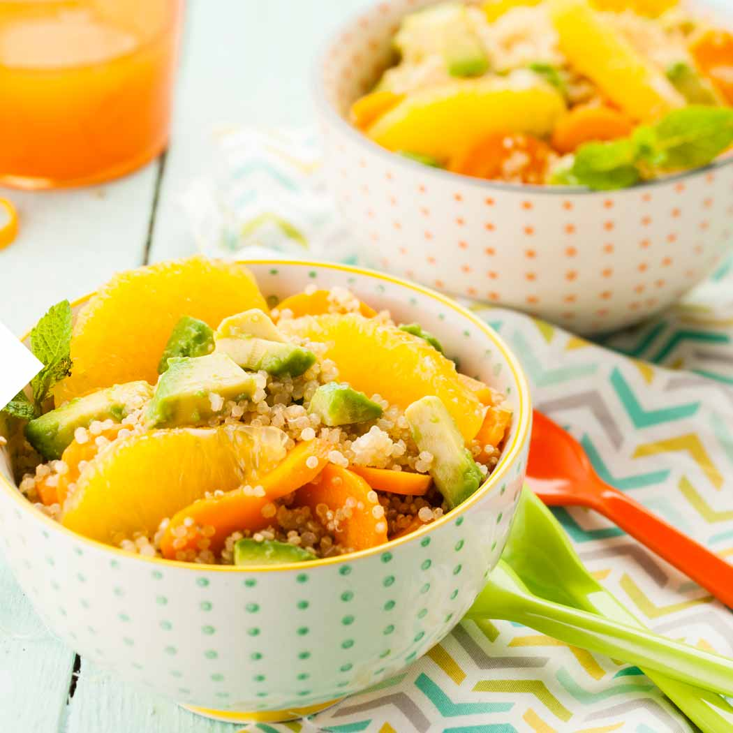 Immunsystem Quinoa Salat