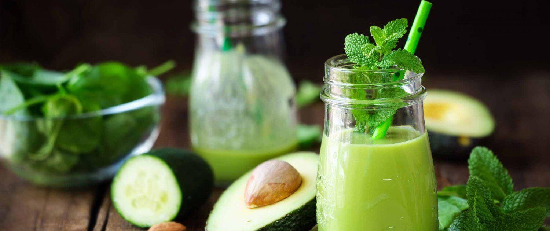 Immunsystem grüner Smoothie Header