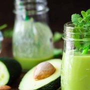 Immunsystem grüner Smoothie