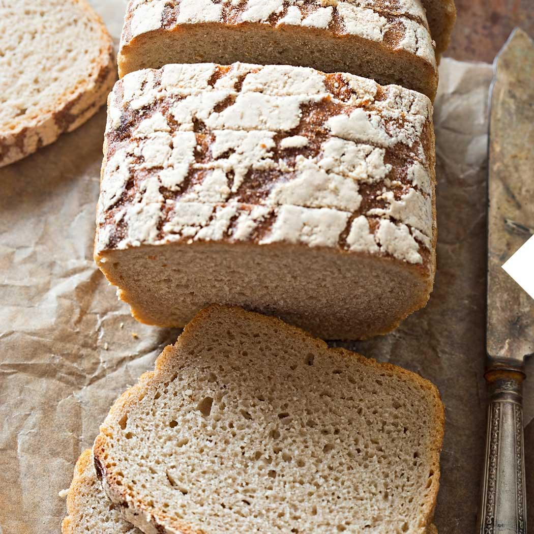Sauerteig Brot backen Vollkornbrot