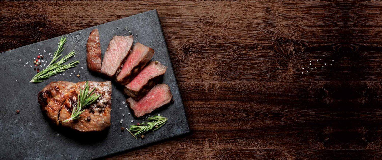 Steak geschnitten Header
