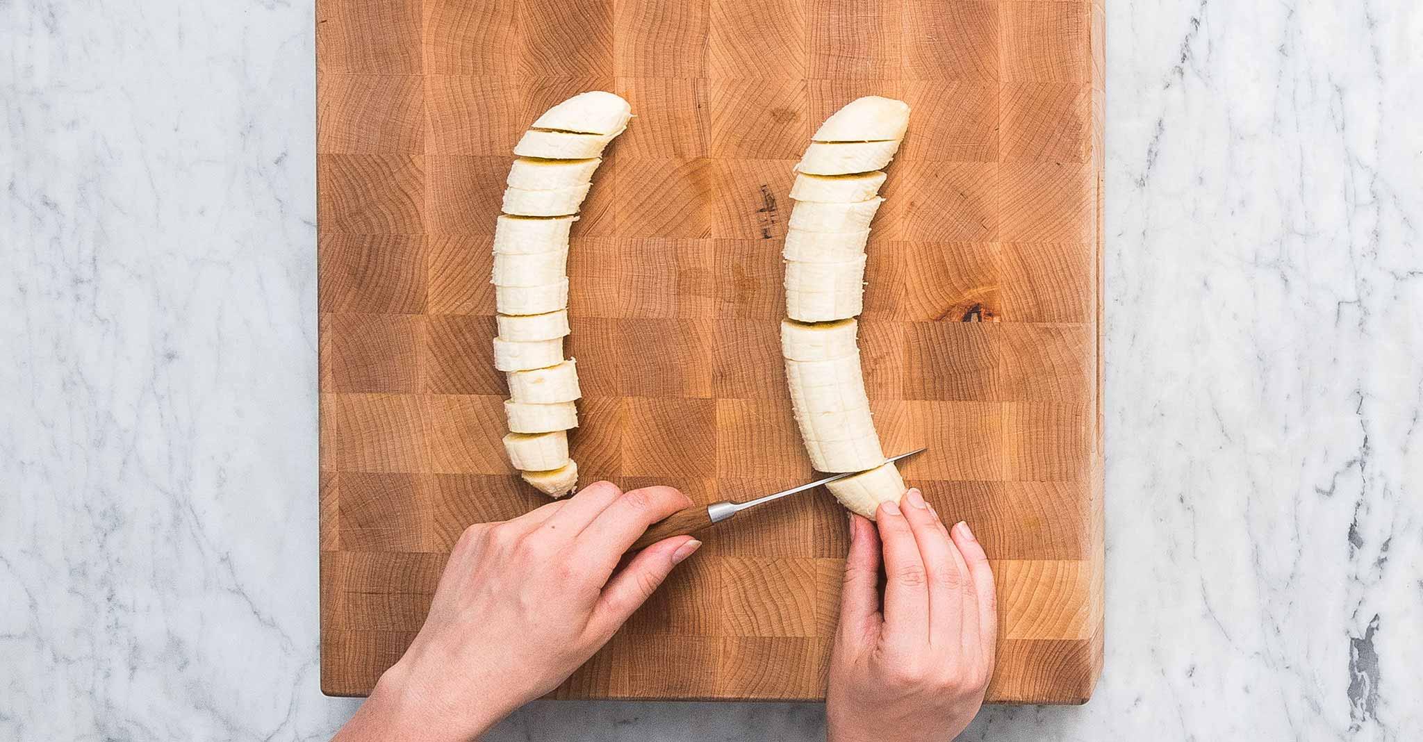 Nicecream-Sandwiches Banannen